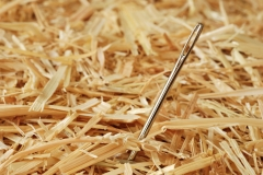 As easy to find as a needle in a haystack!